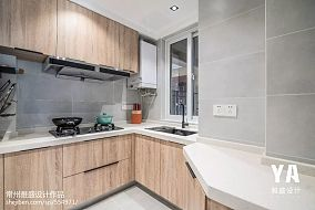 精美82平米二居厨房北欧实景图