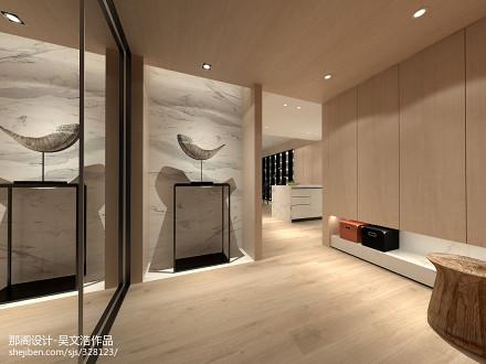 精美面积139平现代四居玄关装修效果图片欣赏151-200m²四居及以上现代简约家装装修案例效果图