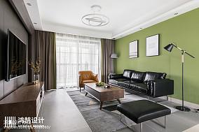 130平现代客厅设计图片三居现代简约家装装修案例效果图