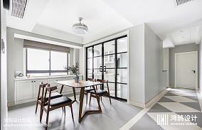 精致86平现代三居设计美图三居现代简约家装装修案例效果图