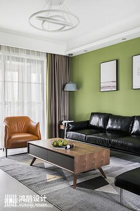 华丽109平现代三居客厅美图三居现代简约家装装修案例效果图