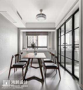 质朴97平现代三居装修美图三居现代简约家装装修案例效果图