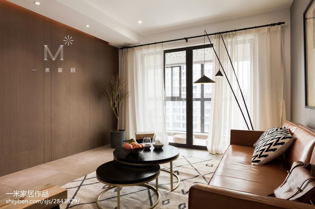 精选90平方二居客厅北欧装修图片欣赏客厅窗帘北欧极简客厅设计图片赏析