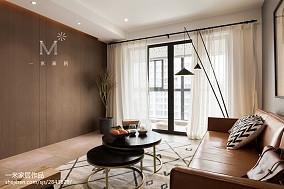 精选90平方二居客厅北欧装修图片欣赏二居北欧极简家装装修案例效果图