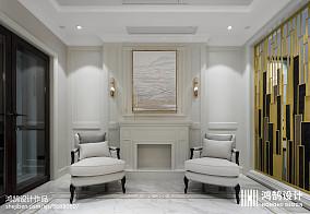 精选面积128平别墅玄关美式装修图片别墅豪宅美式经典家装装修案例效果图