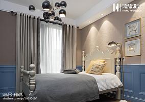 平米美式别墅儿童房效果图片欣赏别墅豪宅美式经典家装装修案例效果图