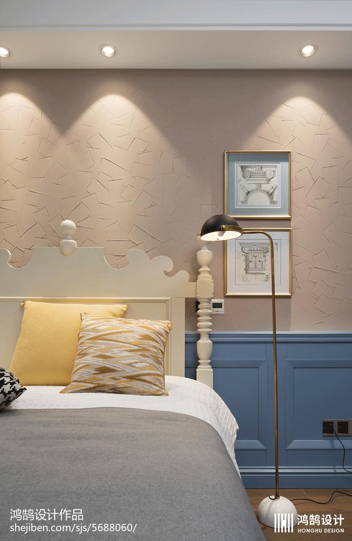热门美式别墅儿童房装修设计效果图片大全卧室美式经典卧室设计图片赏析