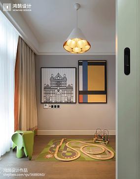 平米美式别墅休闲区装修设计效果图片欣赏别墅豪宅美式经典家装装修案例效果图