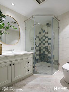 热门118平米美式别墅卫生间装修图片欣赏别墅豪宅美式经典家装装修案例效果图