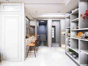 美式厨房整体厨柜图片大全