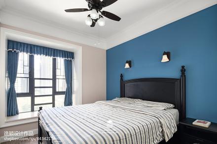 三居地中海次卧设计图卧室