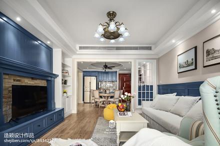 典雅108平地中海三居客厅设计美图客厅3图
