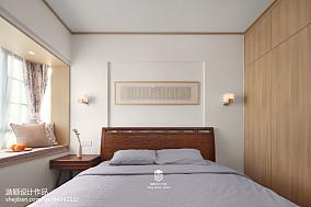 热门92平米三居卧室日式装修设计效果图片大全