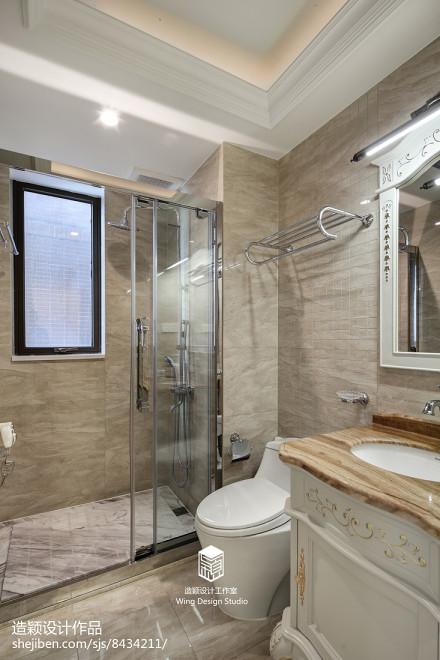 精选134平米四居卫生间欧式实景图片卫生间