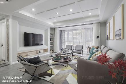 典雅152平北欧四居客厅效果图片大全客厅
