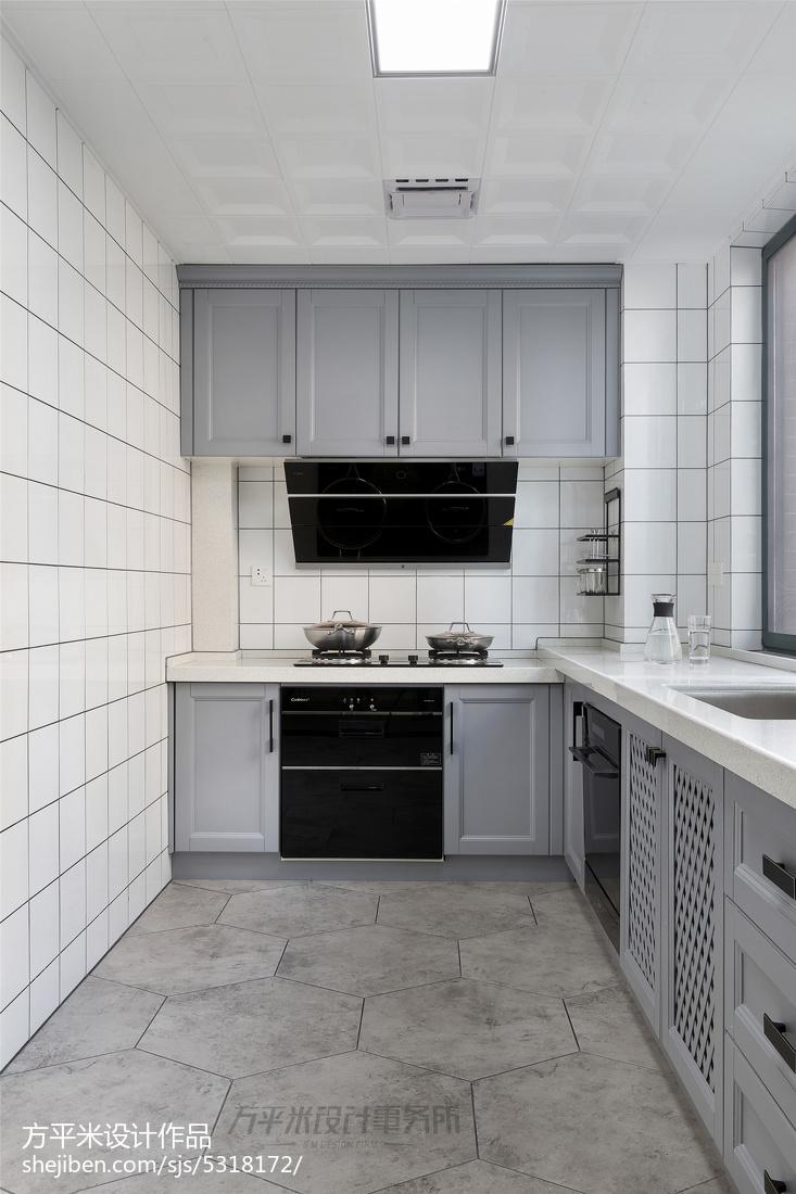 四居北欧风厨房设计图片