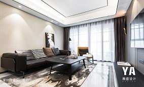 2018精选面积74平现代二居客厅装修图片欣赏