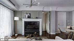 温馨67平美式二居实景图片二居美式经典家装装修案例效果图