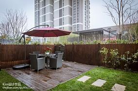 华丽160平美式四居花园装修图
