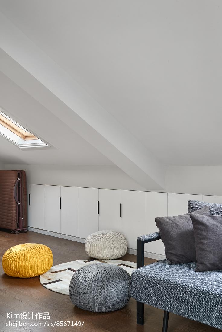 简洁123平现代四居休闲区装饰图片功能区1图现代简约功能区设计图片赏析