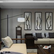 93平米三居客厅中式装饰图片
