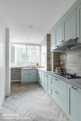 精简北欧风格厨房设计图