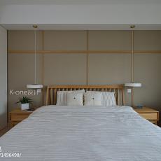 轻奢75平日式复式卧室装修案例
