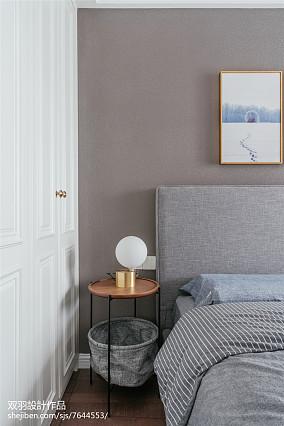 精美94平美式四居卧室设计效果图