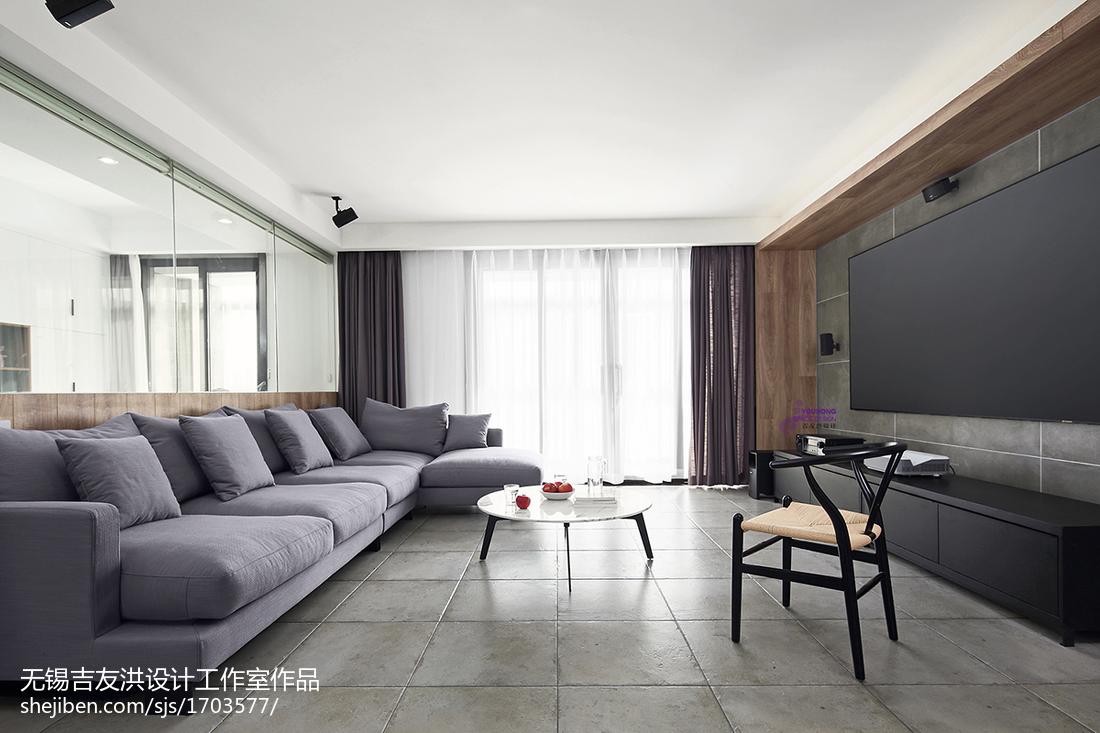 极简现代客厅设计图客厅现代简约客厅设计图片赏析