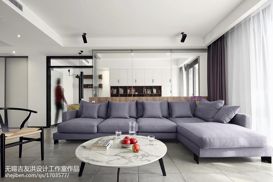 极简现代客厅沙发设计图客厅2图现代简约客厅设计图片赏析