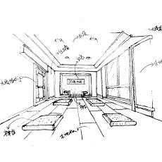 质朴95平新古典三居休闲区装修效果图