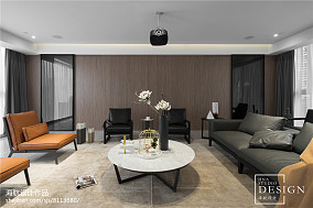 精选面积78平现代二居客厅装修实景图片大全