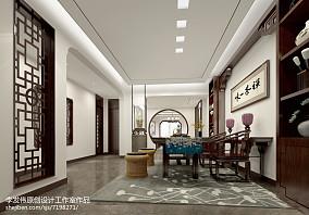 2018精选96平米三居休闲区新古典装修效果图片大全功能区美式经典设计图片赏析