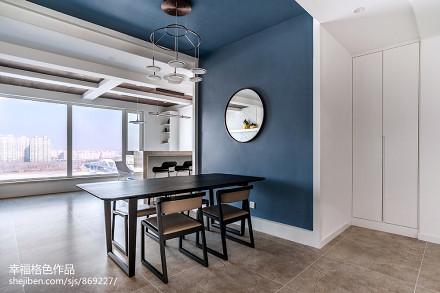 静谧现代餐厅设计图片厨房