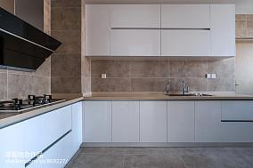 静谧现代厨房设计图