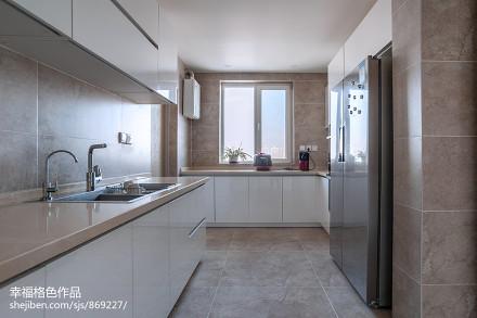 静谧现代厨房设计图片餐厅