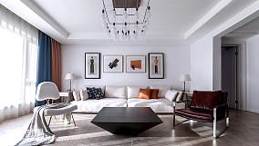 精美96平方三居客厅现代装饰图片大全