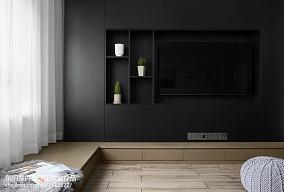 120平方现代背景墙设计图