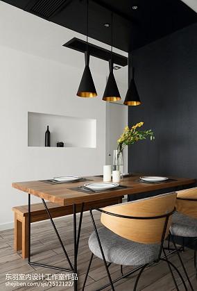 精美大小100平现代三居餐厅效果图片大全