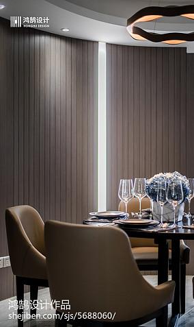 精美现代二居餐厅装修效果图片欣赏