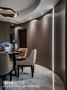 精美87平米二居餐厅现代效果图片