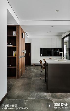 精选面积98平现代三居餐厅装饰图片大全三居现代简约家装装修案例效果图