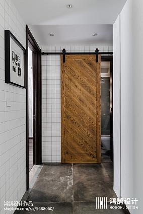 2018大小100平现代三居卫生间效果图三居现代简约家装装修案例效果图