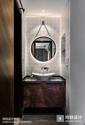 精美现代三居卫生间实景图片大全家装装修案例效果图