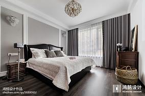 平现代三居装修效果图三居现代简约家装装修案例效果图