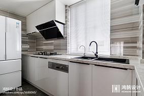 优美78平现代三居实景图三居现代简约家装装修案例效果图