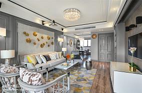 精致57平美式二居客厅图片欣赏客厅美式经典设计图片赏析