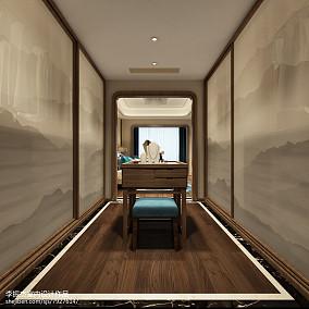 美容院背景墙装修效果图