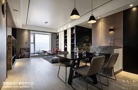 明亮82平现代三居餐厅装修案例