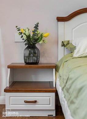 精选102平米三居卧室美式装修欣赏图片